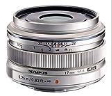 Olympus M.Zuiko Digital 17mm F1.8 Objektiv (lichtstarke Festbrennweite, geeignet für alle MFT-Kameras, Olympus OM-D und PEN Modelle,...