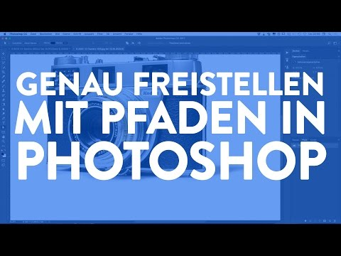 Gerade Kanten genau freistellen mit Pfaden in Photoshop CC