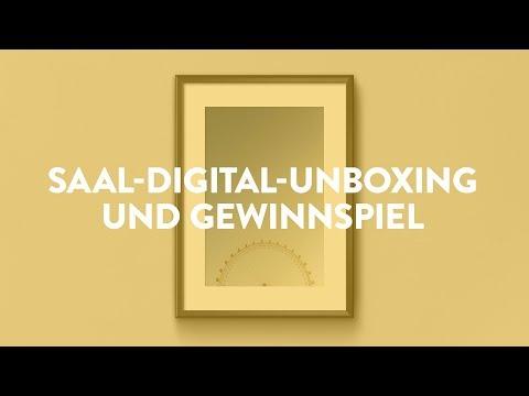 📦 Unboxing Saal-Digital-Wandbild & GEWINNSPIEL