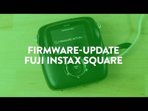 Neue Funktionen für die Fuji Instax Square SQ10 – Firmware Update