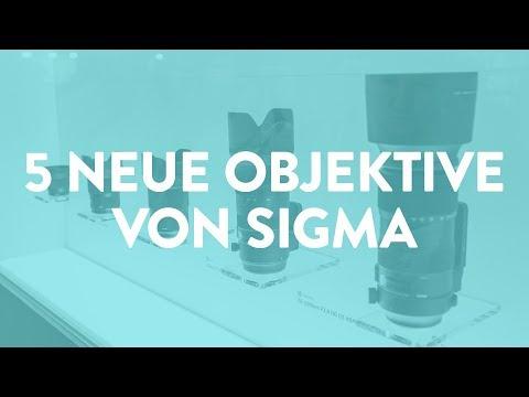Photokina-News: 5 neue Objektive von Sigma
