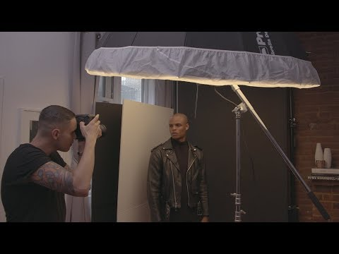 One Light Portraits in 60sqf/5.5sqm | Shooting in Small Spaces