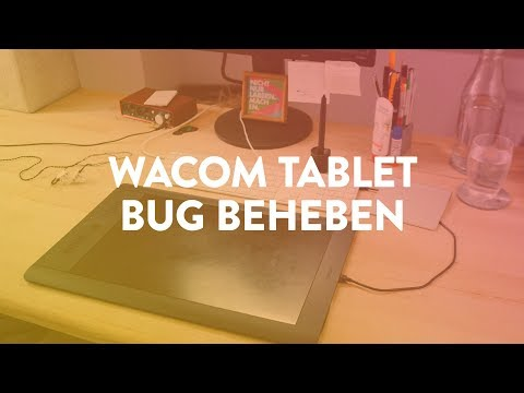 Wacom Tablet Bug unter Mac OSX Mojave beheben