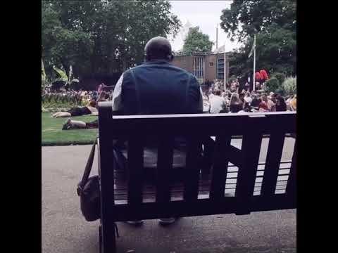Jon Bon Jovi Park Singing by a Guy