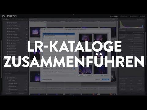 Lightroom-Kataloge zusammenführen