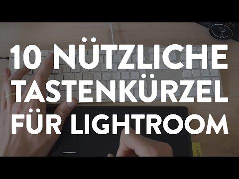 10 Nützliche Tastenkürzel für Lightroom