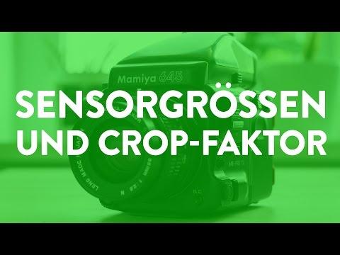 Sensorgrößen und Crop-Faktor erklärt