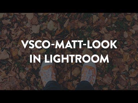 VSCO-Matt-Look/Verblassen-Regler in Lightroom nachbauen