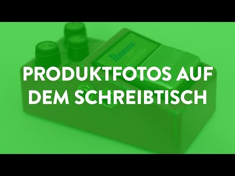 Einfache Profi-Produktfotos vor weißem Hintergrund fotografieren