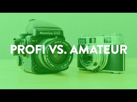 5 Dinge die Profi-Fotografen von Amateuren unterscheidet