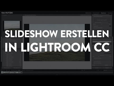 Slideshow/Diashow erstellen in Lightroom Classic