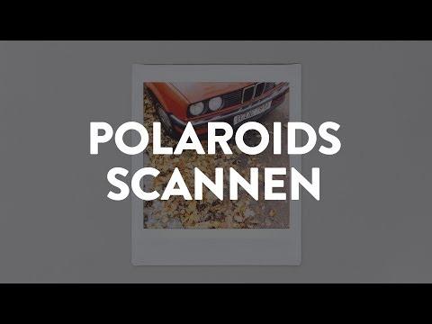 Instax und Polaroids richtig scannen