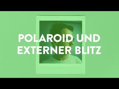 📸 Bessere Polaroids durch externen Blitz