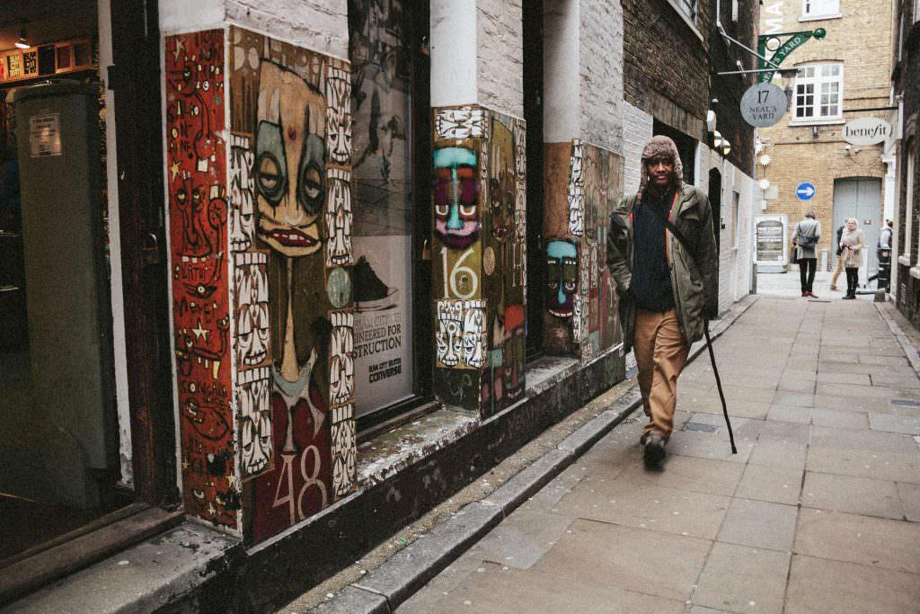 London Soho Street Fotografie
