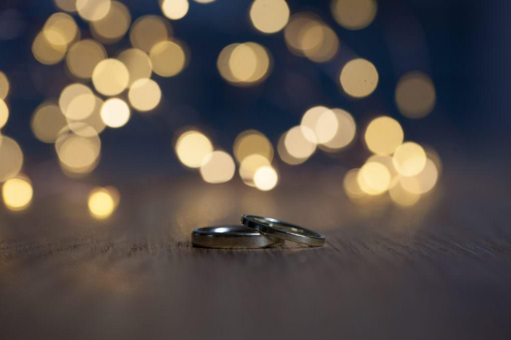 Ringfoto mit Bokeh