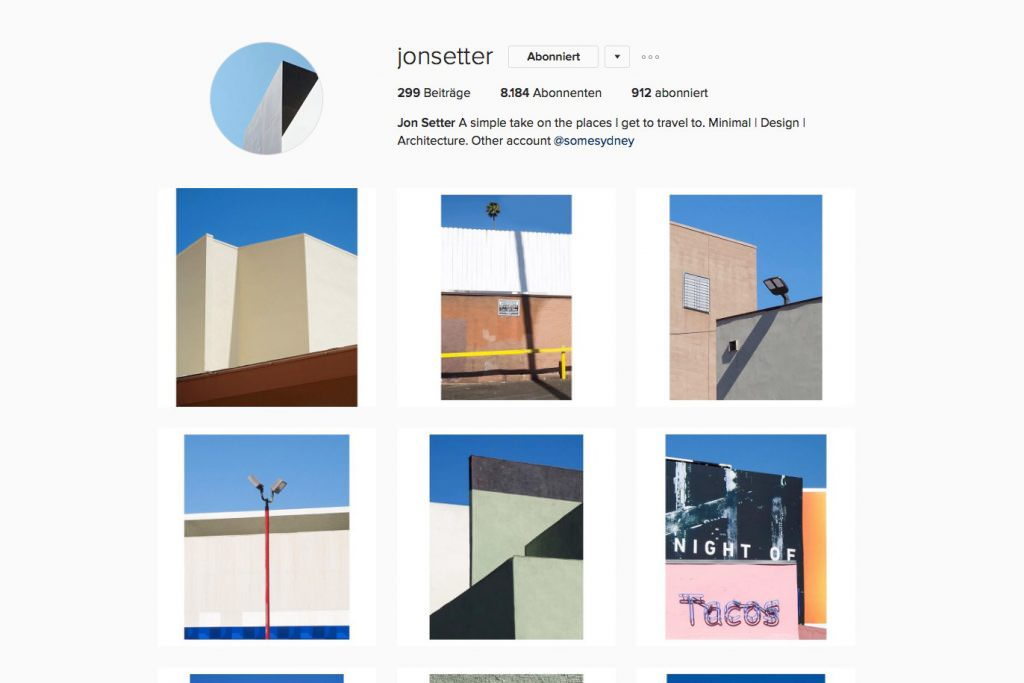 Portfolio von Jon Setter