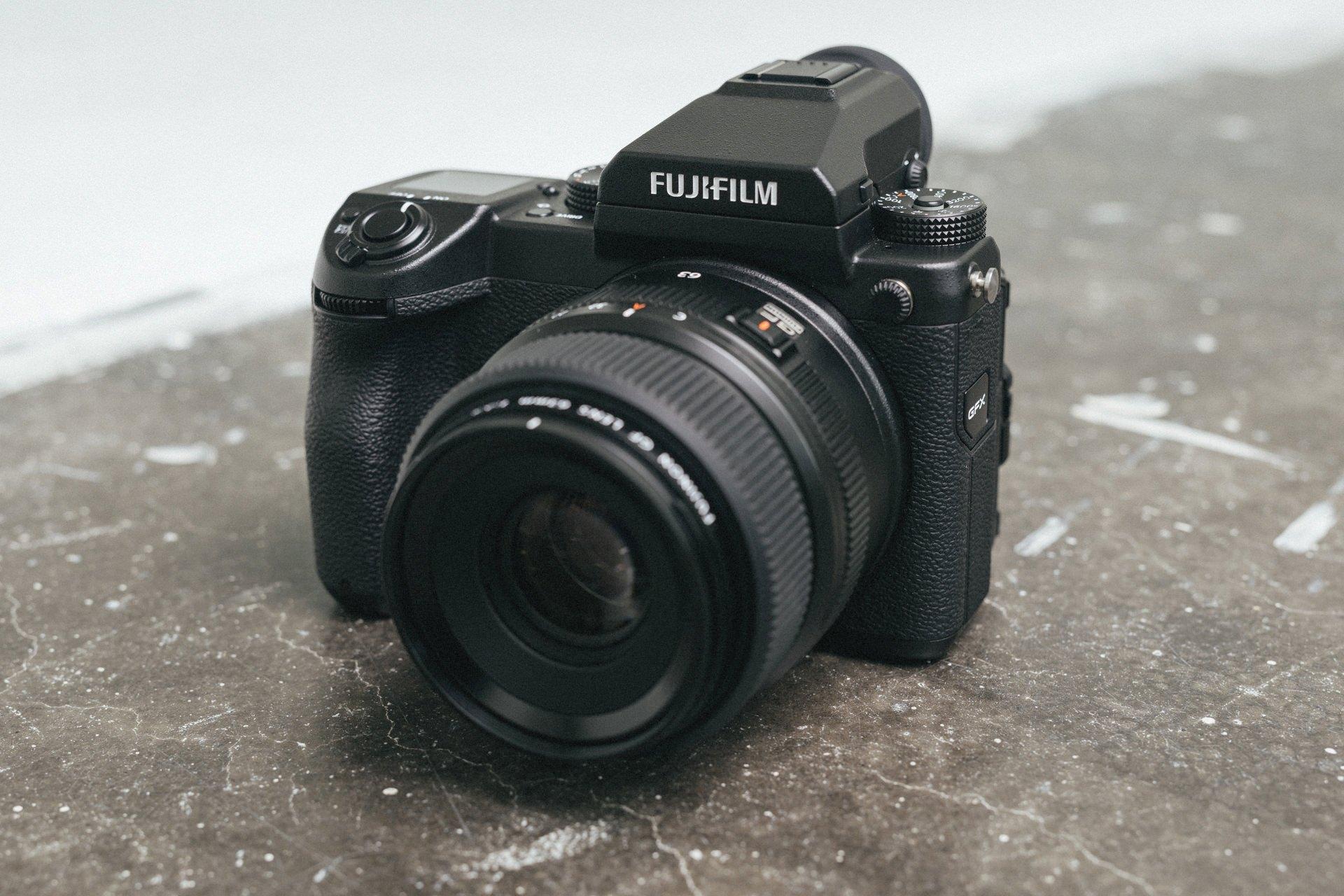 Fuji GFX 50S - Mittelformatkamera