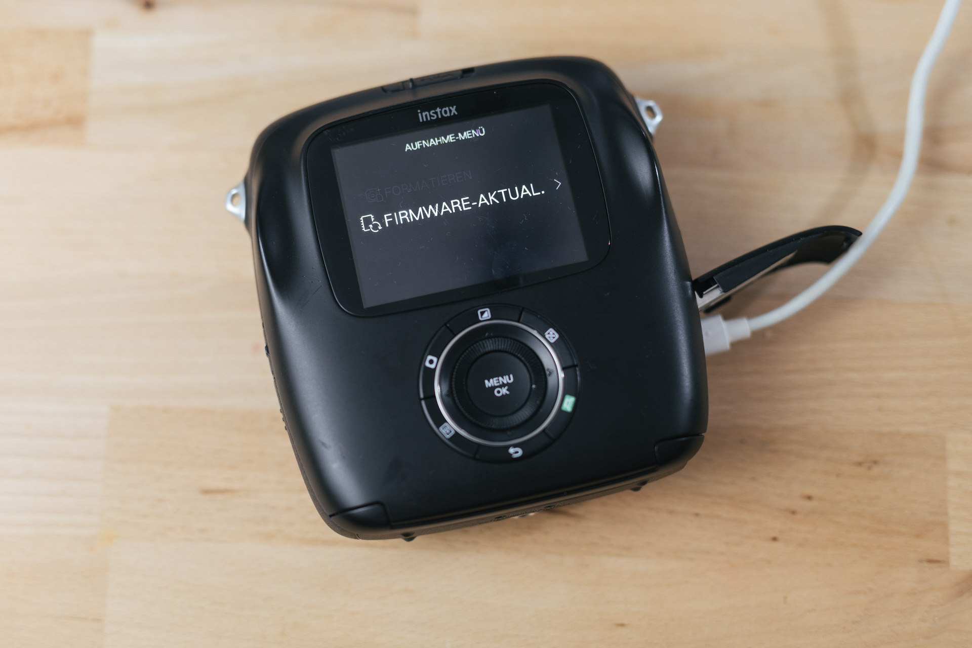 Firmware-Update bei der Instax Square SQ10