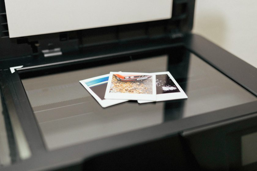 Polaroid-Scanner