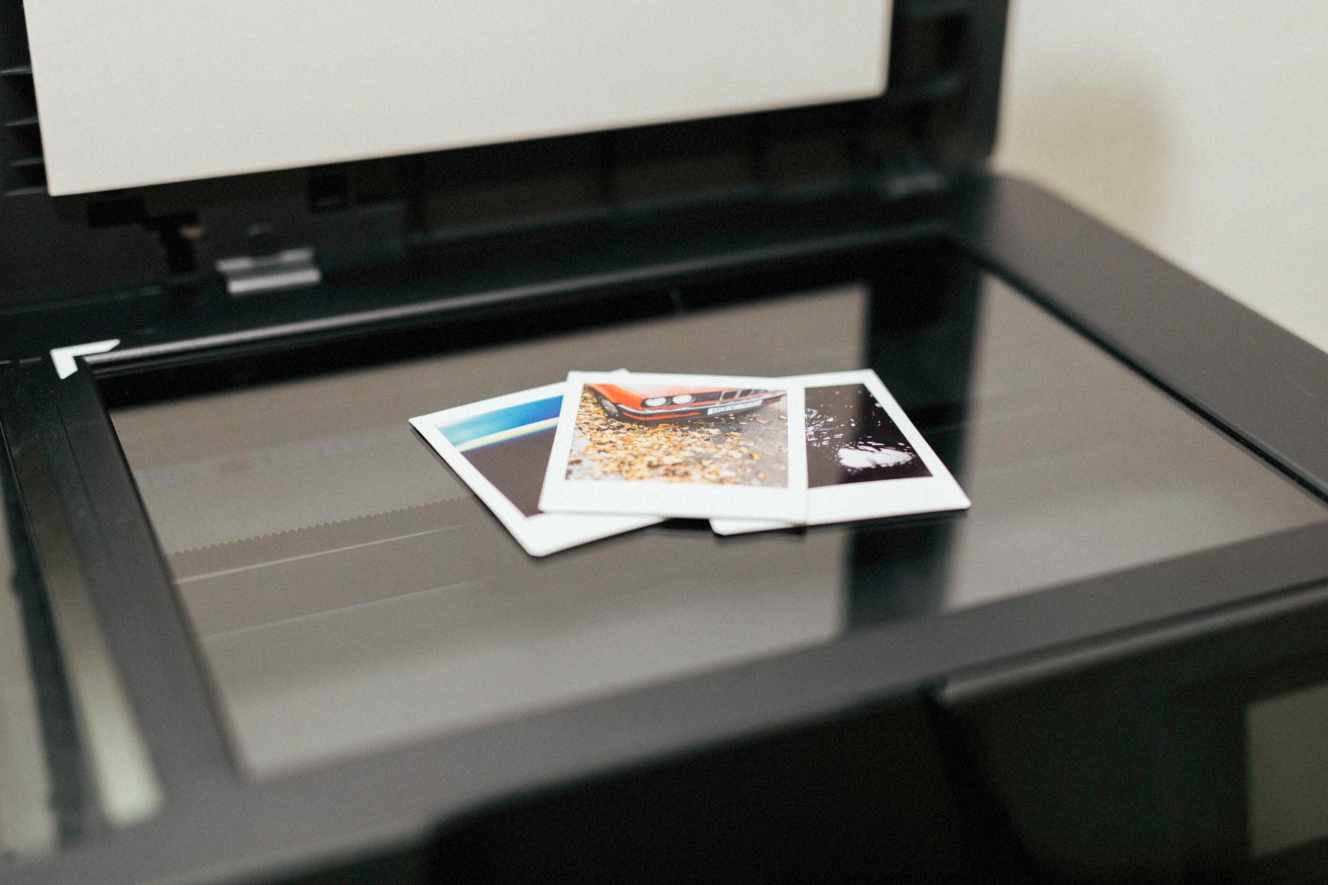 Polaroid-Scanner