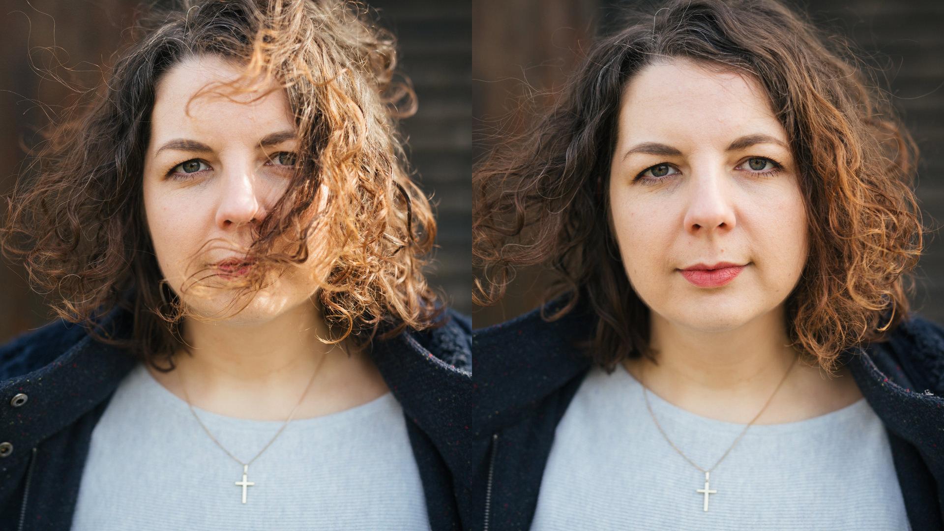links ist immer das Bild ohne Reflektor, rechts mit dem transparenten Innenteil