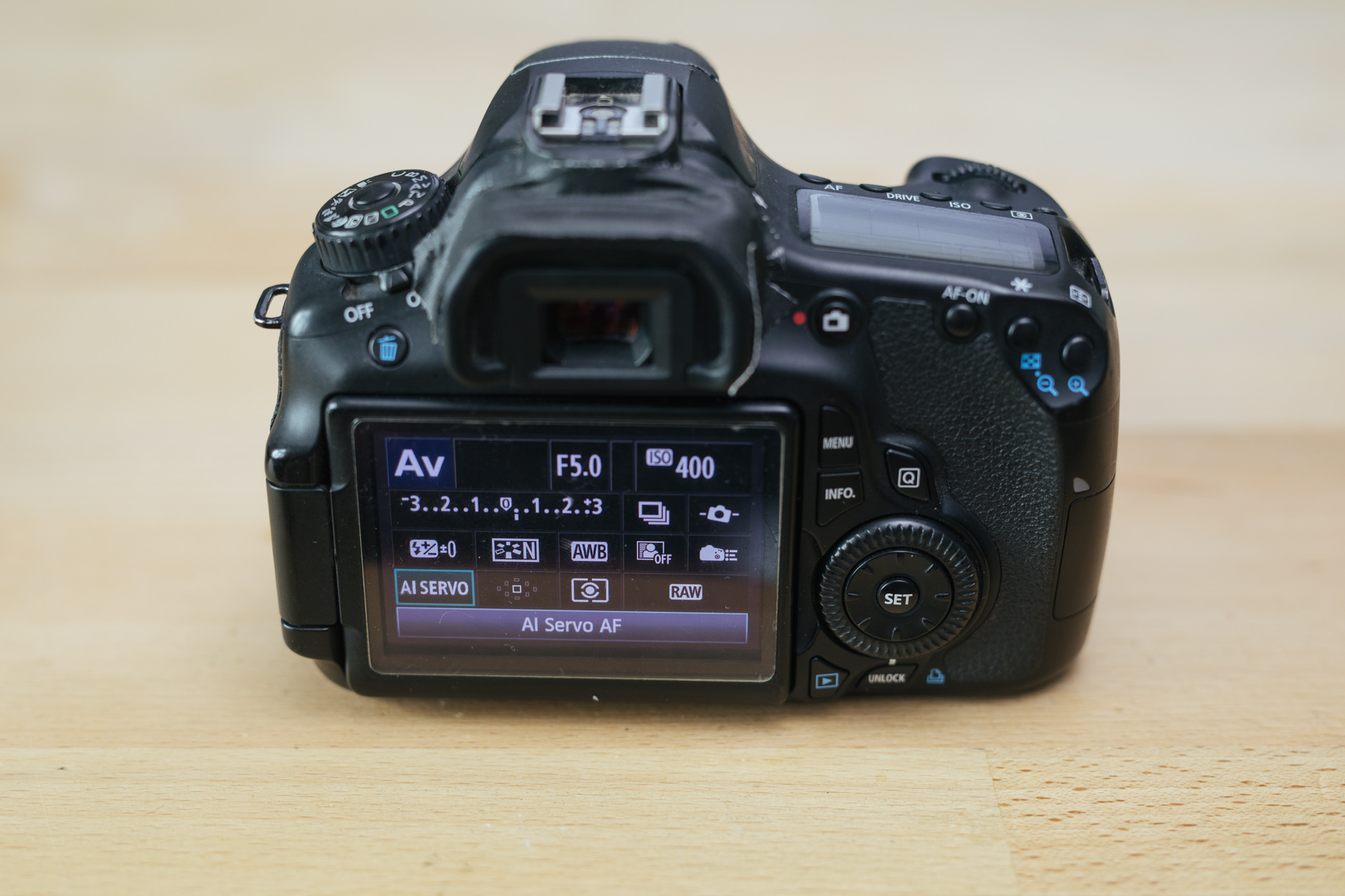 Backbutton Fokus bei Canon Kameras aktivieren