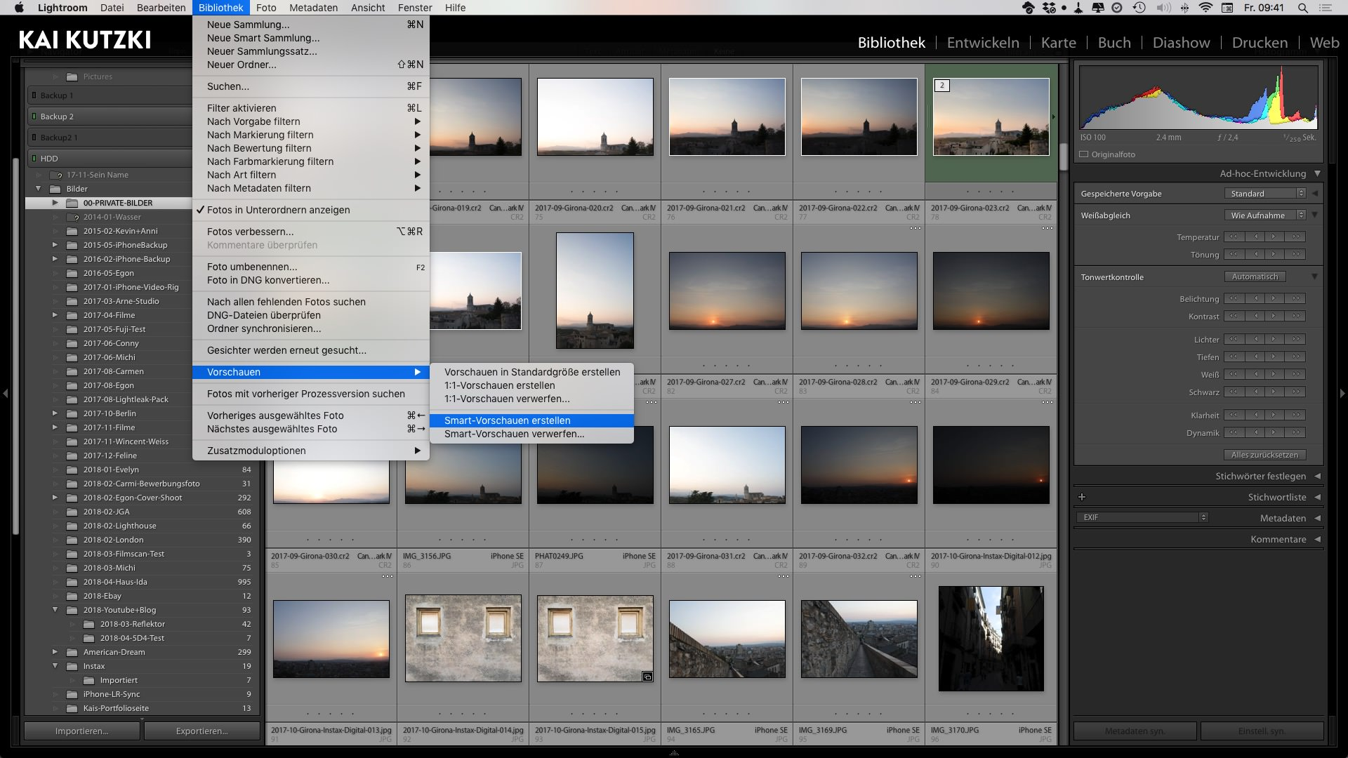 Workflowtipps für Lightroom