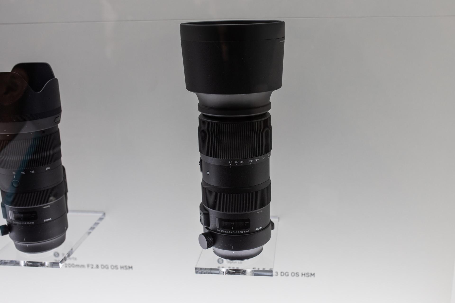 Sigma 60 -600mm F4.5- 6.3 Sports