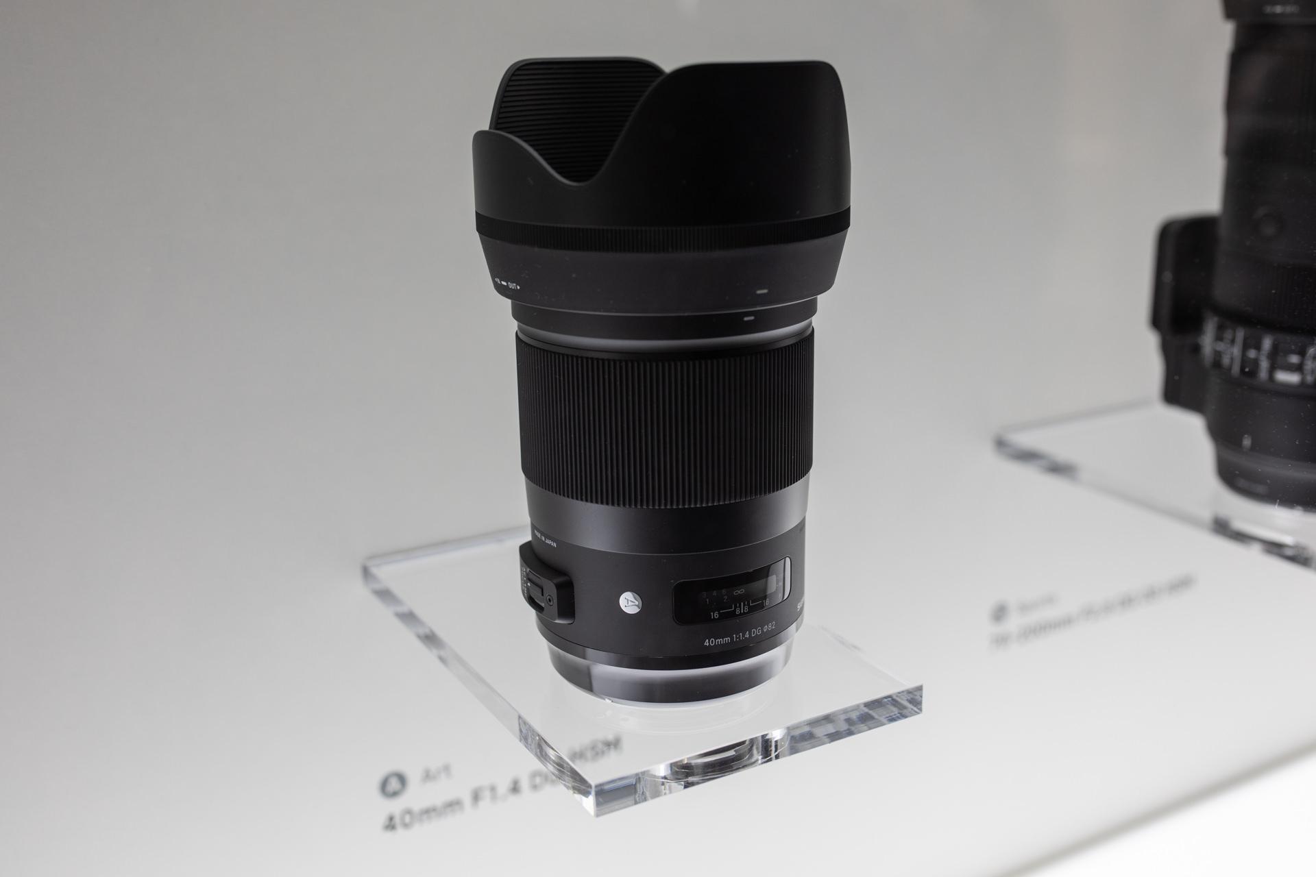 Sigma 40mm 1.4 Art