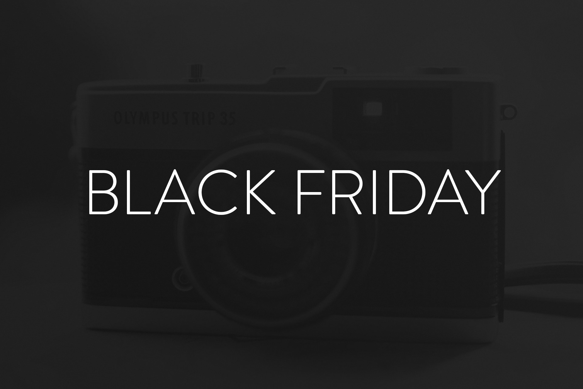 Black Friday Deals für Fotografen