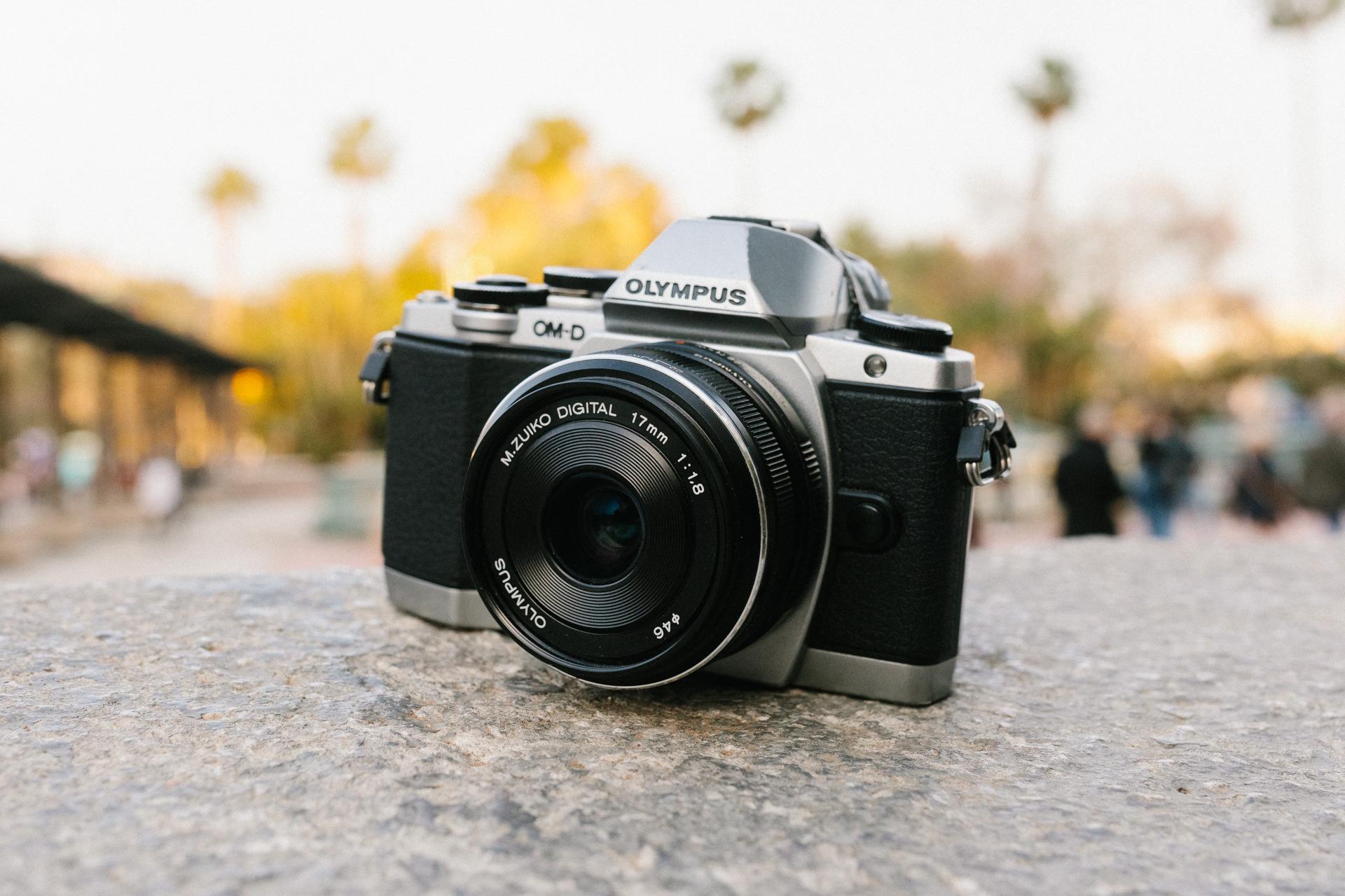 Olympus 17mm f1.8 - Kompaktes Reiseobjektiv für Micro Four Thirds