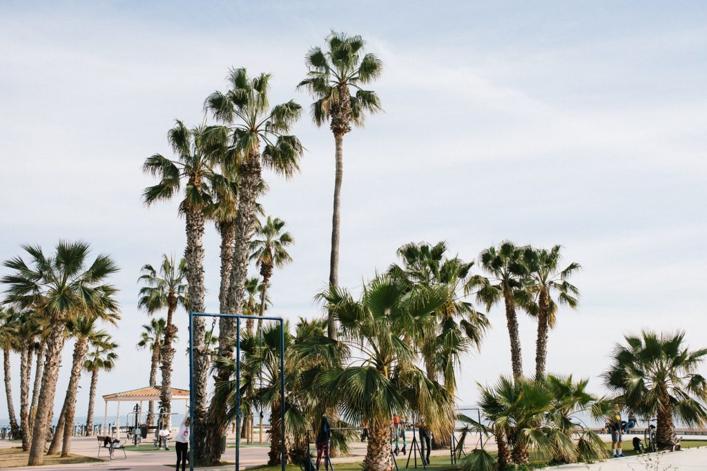 Der Parque de ejercicios del Paseo Marítimo