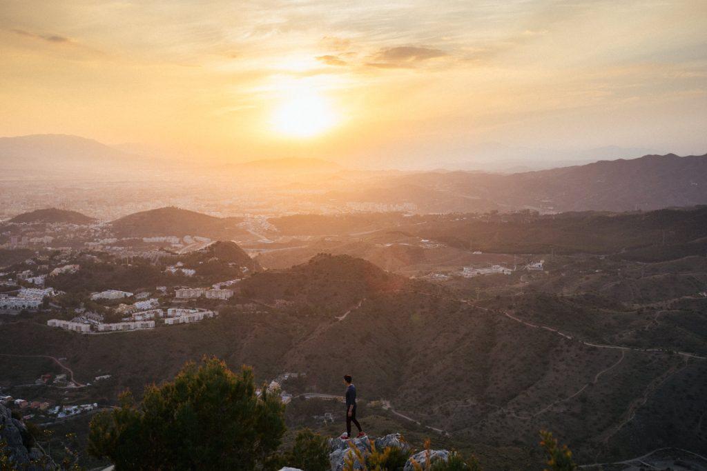 Instagrammable Spot in Malaga: Der Monte San Antón