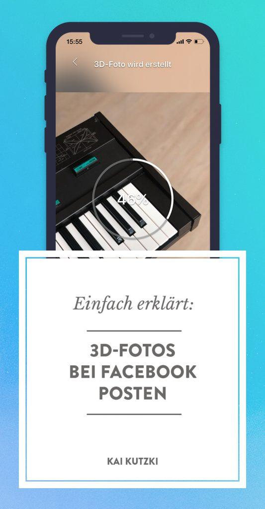 Einfach erklärt: 3D-Fotos bei Facebook posten – pinne dieses Bild bei Pinterest