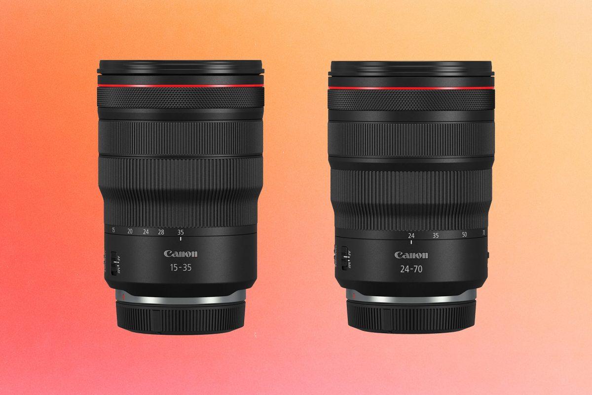 Neue Objektive von Canon: RF 15-35 f2.8 und RF 24-70 f2.8