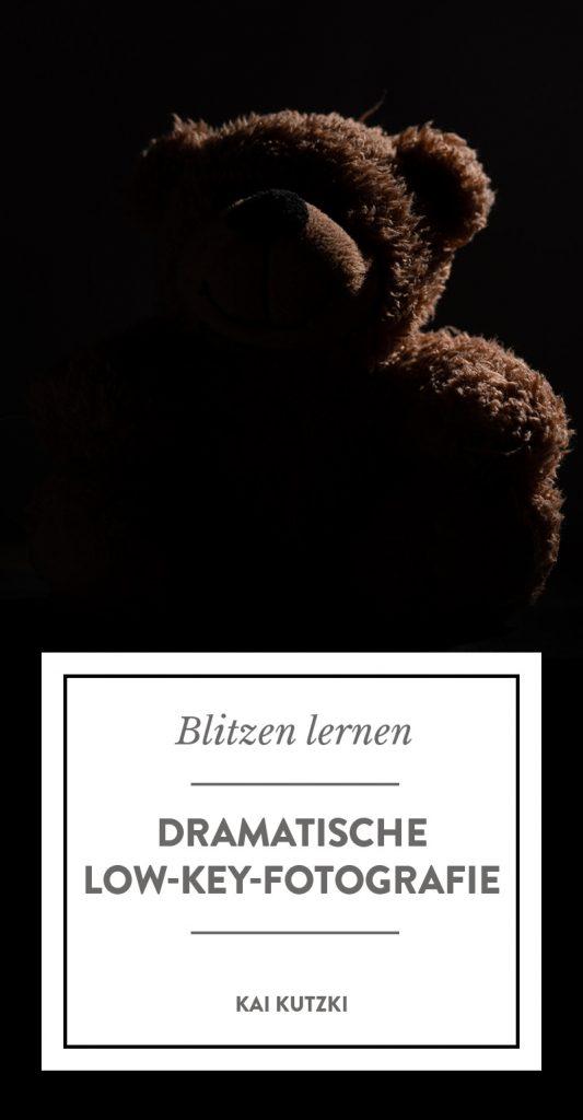 Dramatische Low-Key-Fotografie mit nur einem Aufsteckblitz – entfesselt blitzen