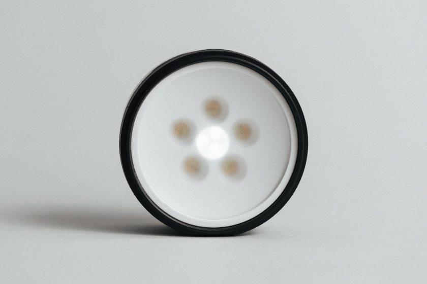 Die LEDs des Profoto C1 Plus ohne Dome Diffusor