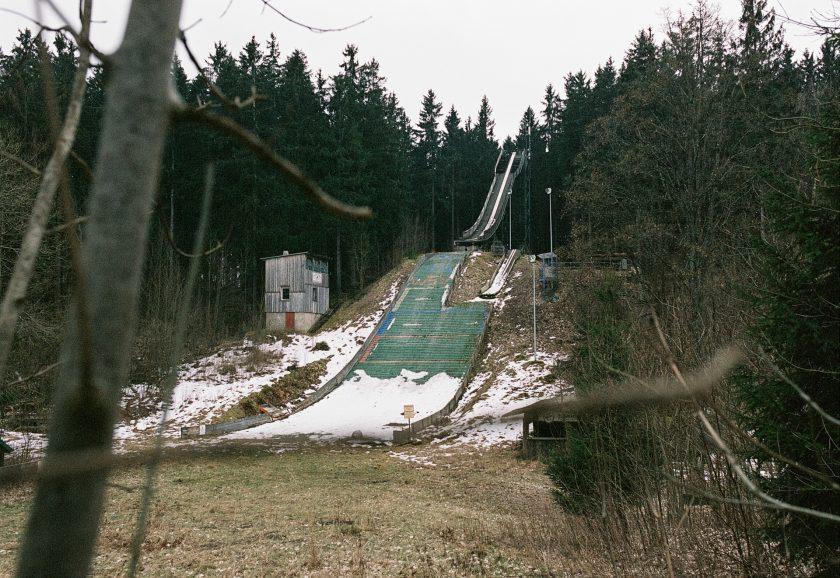 Kurt Heyder Schanze im Harz auf Fuji Superia 100