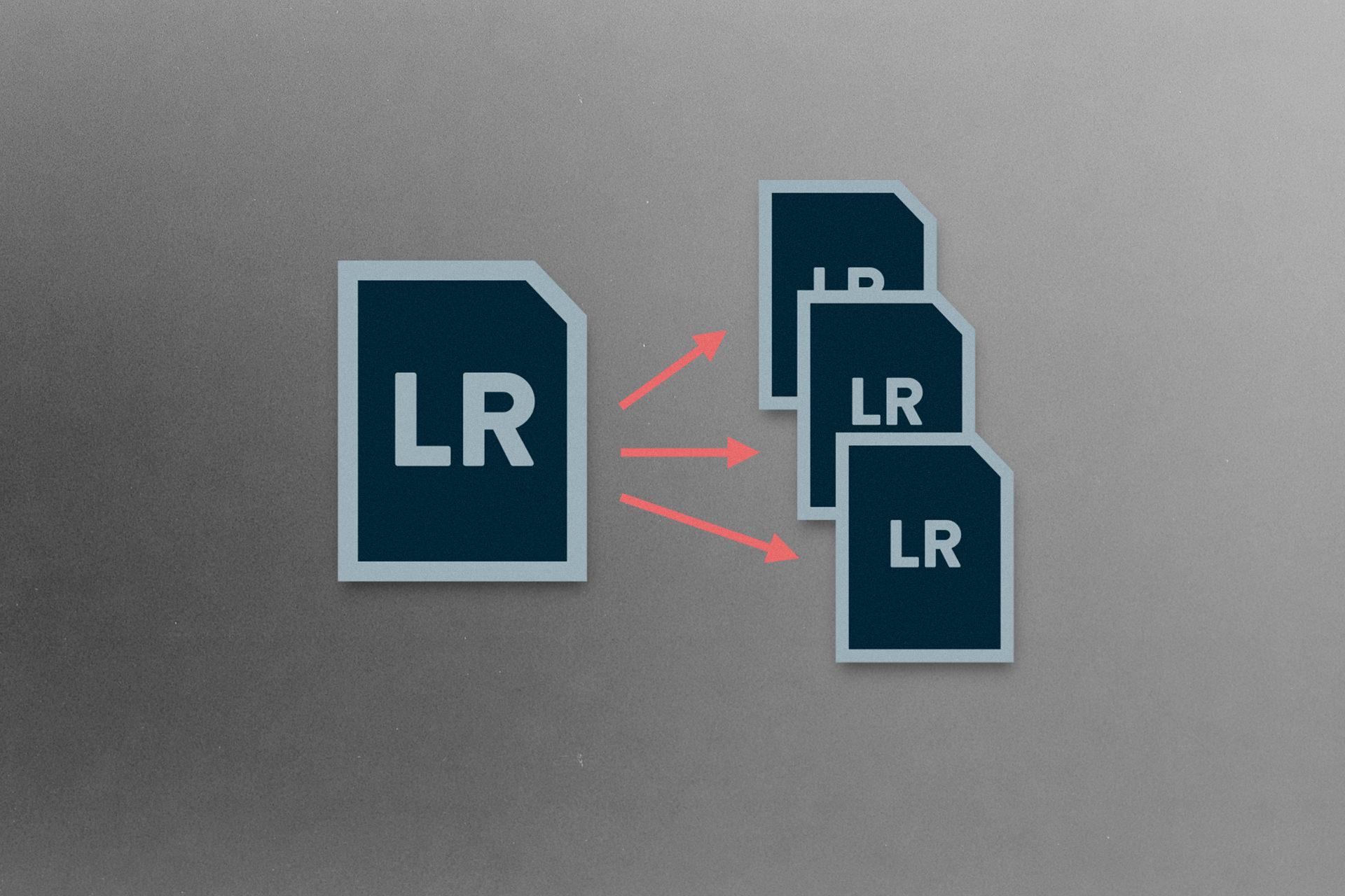 Ordner oder Sammlung als Lightroom-Katalog exportieren - Eine Anleitung