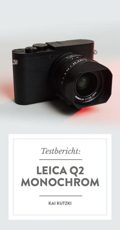 Leica Q2 Monochrom im Kurztest
